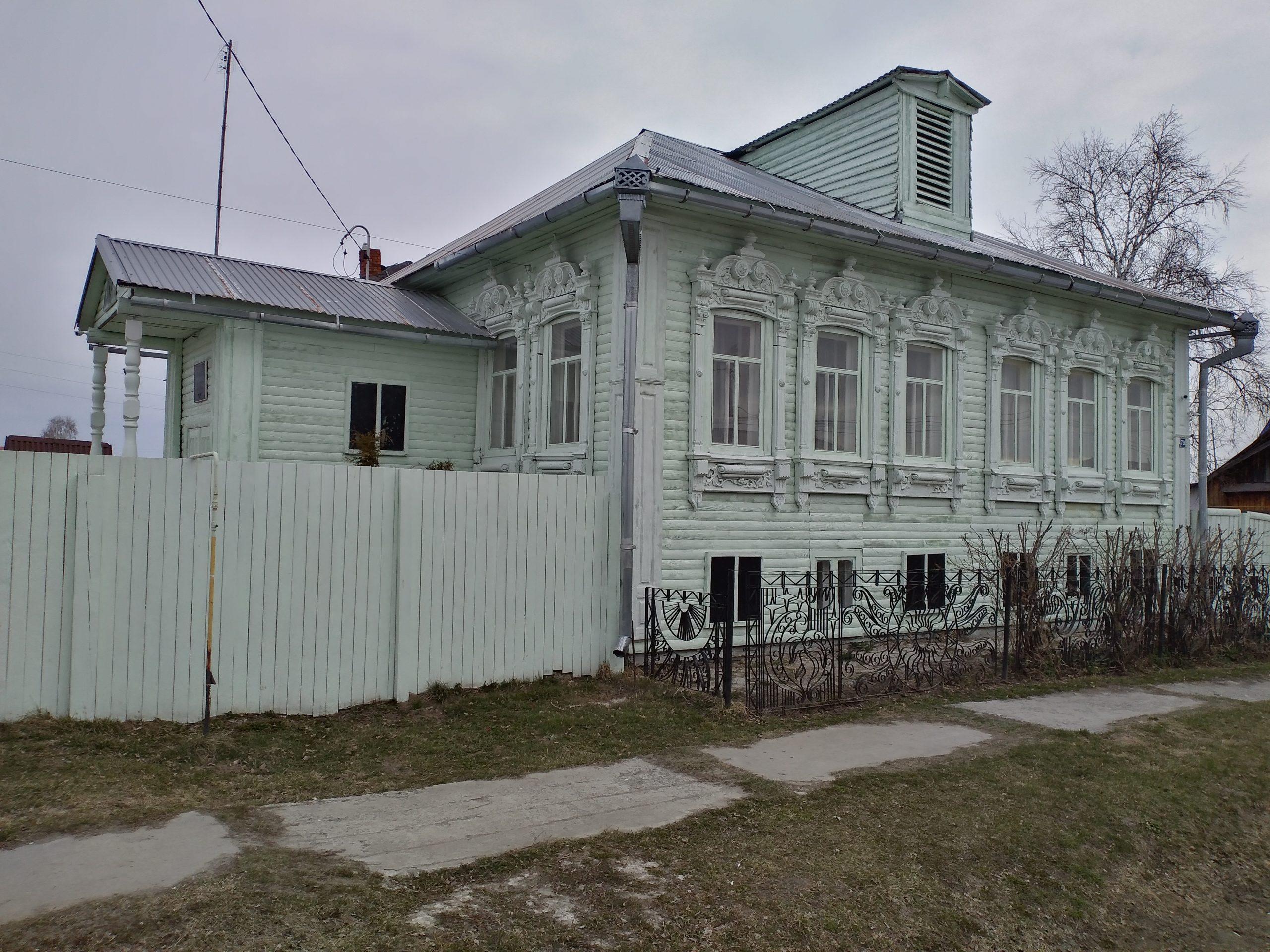 Дом Распутина в с.Покровское