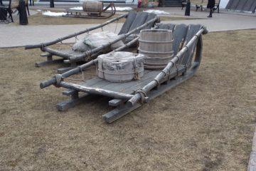 Тобольский Кремль. Во дворе Гостиного двора.
