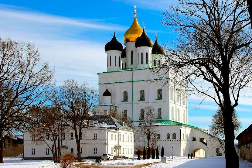 Псков. Троицкий собор