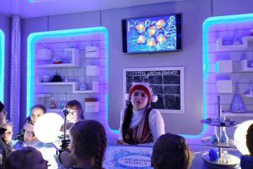 Лаборатория погоды в тереме Деда Мороза
