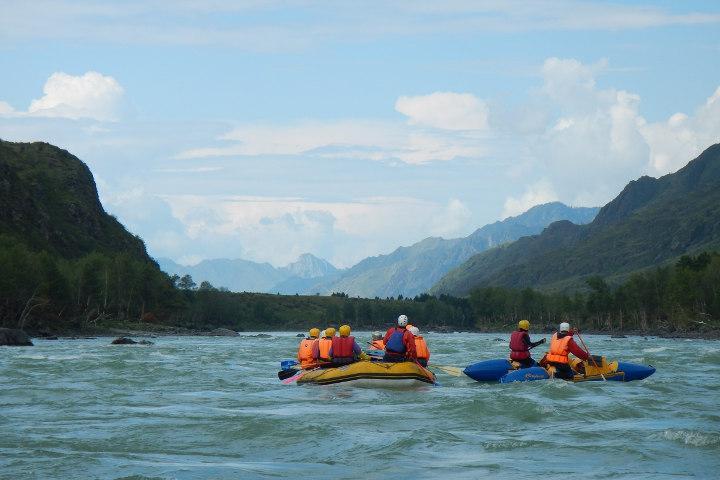 Водные туры по Алтаю