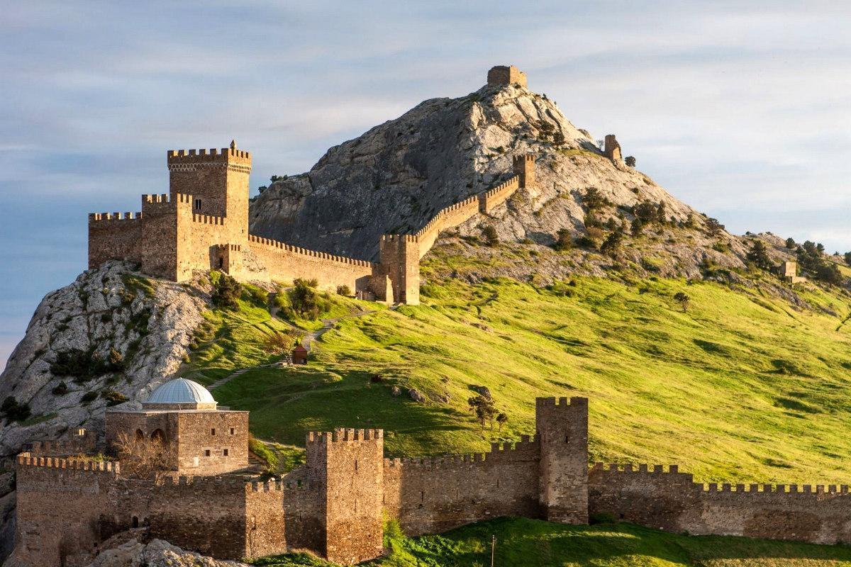 Крым — Генуэзская крепость