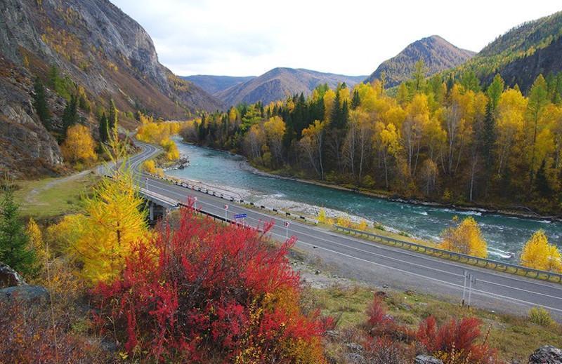 Осенний тур на Алтай