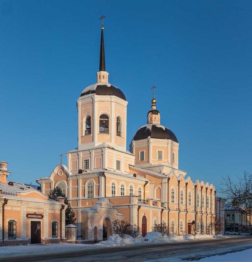 Томск, Воскресенская церковь