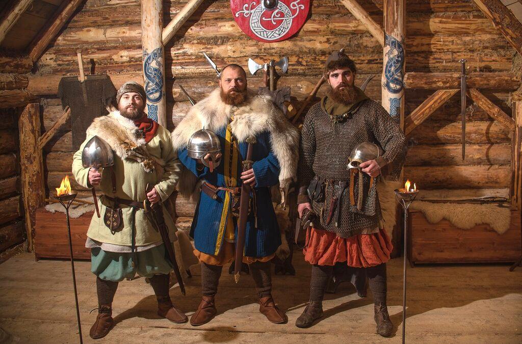 Новый год в деревне Викингов