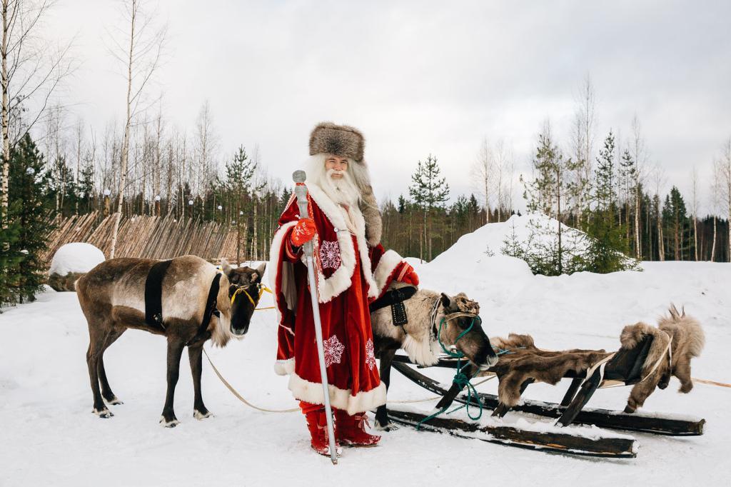 Новогодние приключения в Карелии